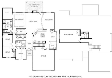 4 bedroom floor plans with bonus room 1000 images about bill beazley floor plans on house plans bonus rooms and 4