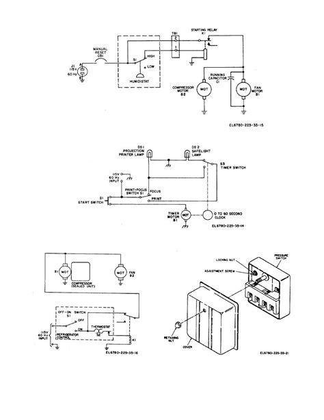 pressure switch diagram schematic diagram of pressure switch circuit and