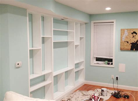 DIY Custom Built In Bookcases ? Little House Big City
