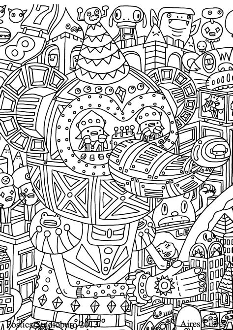 For 6 Unclassifiable Coloring Pages For Adults Justcolor Unclassifiable Coloring Page