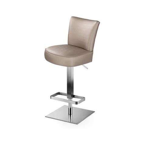 Square Base Bar Stools by The Lowery Upholstered Bar Stool With Square Base