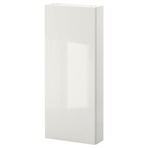 Godmorgon Wall Cabinet With 1 Door High Gloss White Ikea Bathroom Cabinet Storage