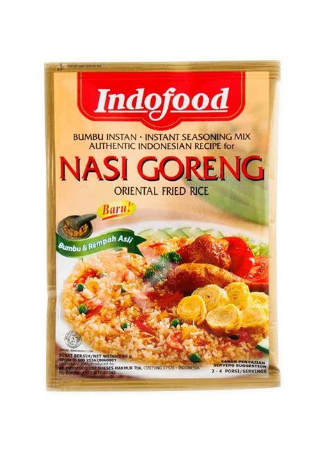 Indofood Bumbu Instan Gulai 45g indofood bumbu instant nasi goreng pck 45g klikindomaret