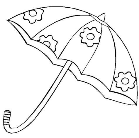 imagenes para colorear variadas un lindo paraguas dibujalia dibujos para colorear