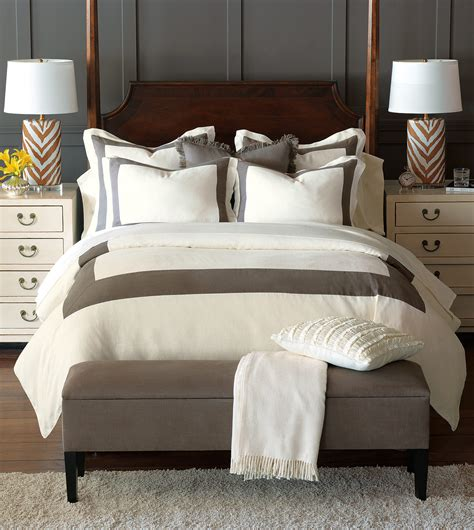 eastern accents bedding luxury bedding by eastern accents breeze mitered linen