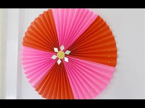 Paper At Home - diy crafts easy home decor idea rosette