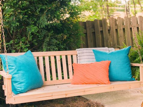hanging porch swings how to install a porch swing how tos diy