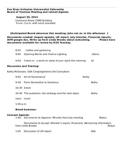 Retreat Schedule Template Retreat Agenda Template 7 Free Word Pdf Documents Download Free Premium Templates