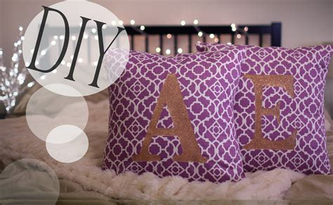Pillow Diy by Monogram Pillow Cases Sew No Sew Le Style
