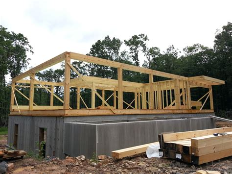 post and beam construction post and beam construction part 2