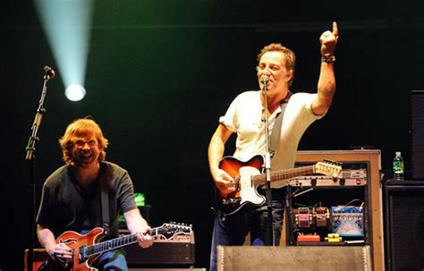 mustang sally band tour dates phish performs with springsteen setlist pics