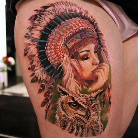 top 10 cool native american tattoos
