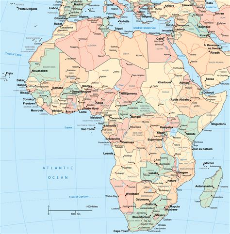 africa map 2011 ancient s history site