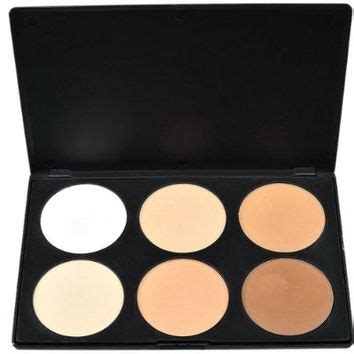 outop professional 6 colors contour face powder makeup outop professional 6 colors contour face from amazon