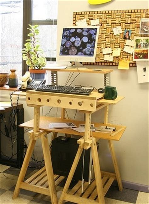 Lifehacker Standing Desk by The Sawhorse Standing Desk Lifehacker Australia