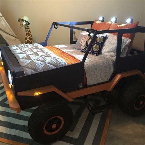 jeep bed plans twin size car bed decor ideas de