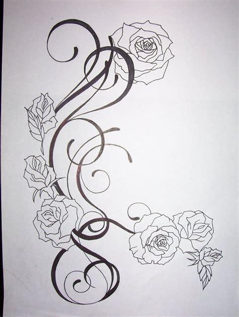 flower pattern tattoo designs flower tattoo design by tattoosuzette on deviantart