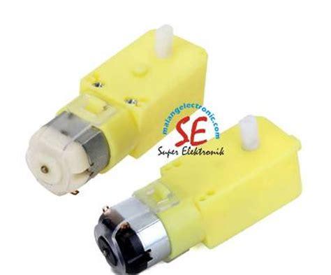 Jual Motor Dc Encoder jual motor dc plastik lurus gearbox plastik line follower harga murah malang electronic