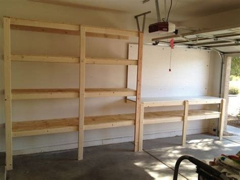 diy garage shelves 1000 ideas about garage shelf on diy garage