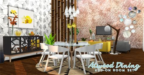 simsational designs atwood dining content collection addon