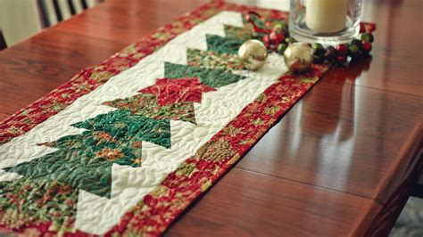how to a table runner table runner the half hex ruler quilting