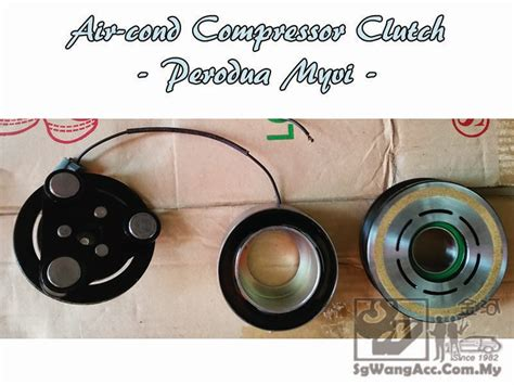 Compressor Aircond Viva sungai wang car air cond