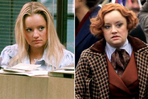 lucy davis as etta candy the office cast fifteen years on telly visions