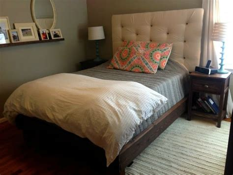 diy headboard and bed frame how to build a headboard and bed frame diy projects craft