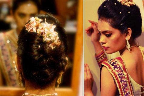 top best simple hairstyles for functions indian cute indian stylish hairstyles for wedding marriage function