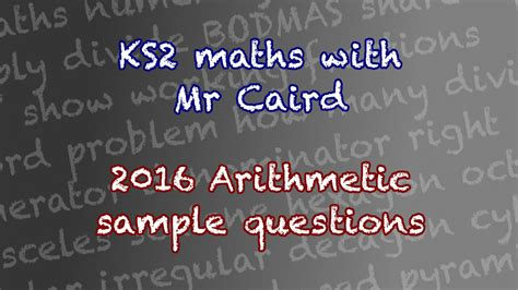 new year 2016 story ks2 ks2 2016 maths sat sle arithmetic questions