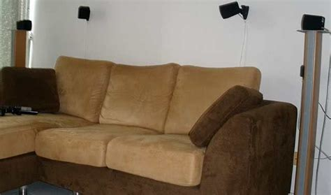 subwoofer behind couch mcf s home theater gallery my home theater 11 photos