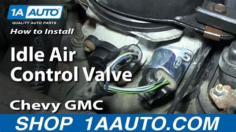 install replace idle air control valve