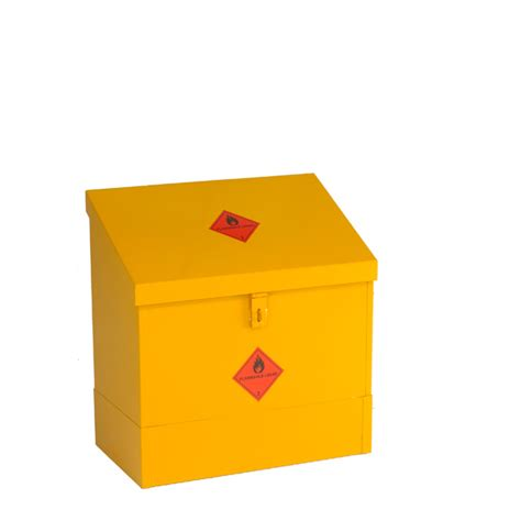 Small Flammable Cabinet by Cb11f Small Sloping Flammable Liquid Storage Bin Sc Cabinets
