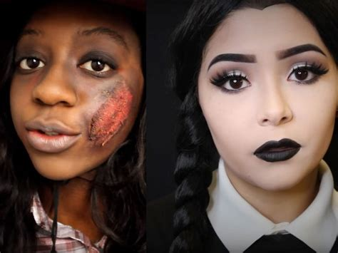 easy halloween makeup tutorials    lazy girl