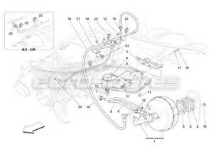 Servo Brake System Diagram Maserati Qtp 2005 4 2 Order Eurospares