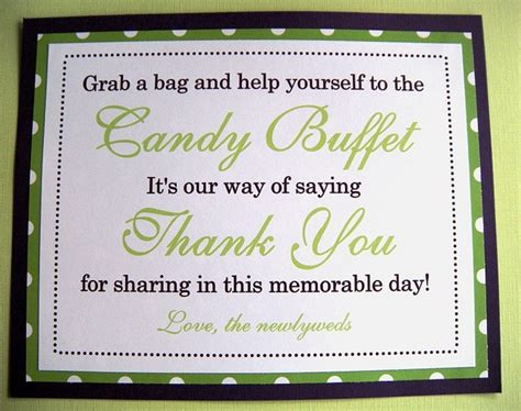 buffet sign wording wording for buffet sign the quinceanera or sweet sixteen