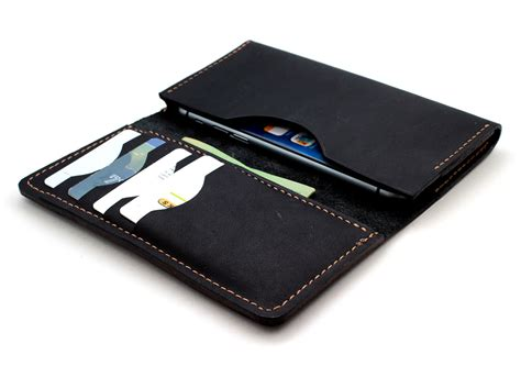 android wallet stitched sleeve wallet for android phone in stoned