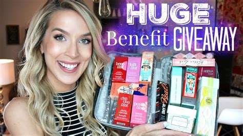 Huge Makeup Giveaway - huge benefit makeup giveaway youtube linkis com