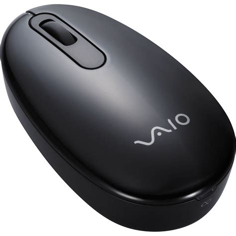 Mouse Wireless Sony sony vaio wireless travel mouse black vgpwms10 b b h photo