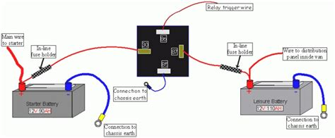 tec3m split charge relay wiring diagram wiring diagram