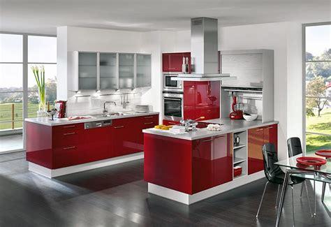 fotos de cozinhas em vermelho decoracao  ideias
