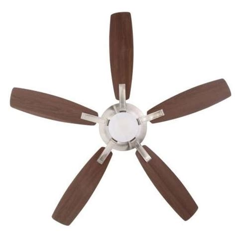 petersford 52 in led brushed nickel ceiling fan home decorators petersford 52 in brushed nickel led