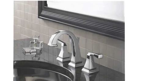 delta dryden bathroom faucet delta 3551lf dryden two handle widespread lavatory faucet