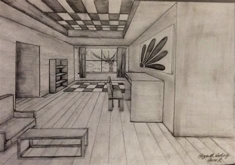 1 point perspective room one point perspective room elizabeth s portfolio