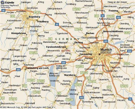 map augsburg germany karte deutschland stadt regionalen politisch