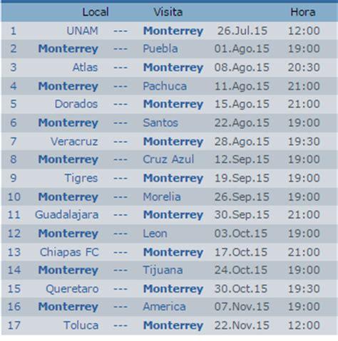 Calendario Liga Mexicana De Futbol 2015 Search Results For Liga Mexicana 2016 Calendar 2015