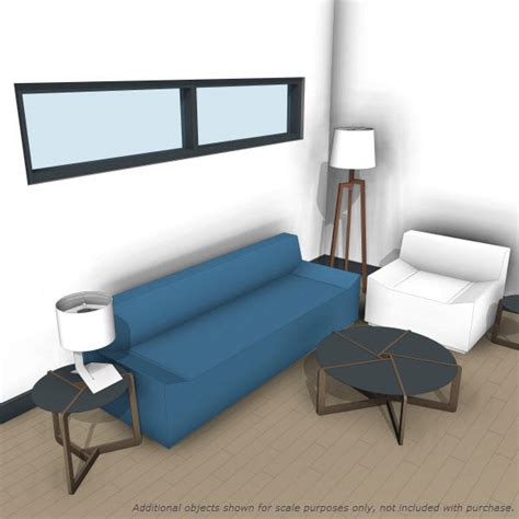 Bluedot Furniture by Dot Pi Coffee Table 10223 2 00 Revit Families