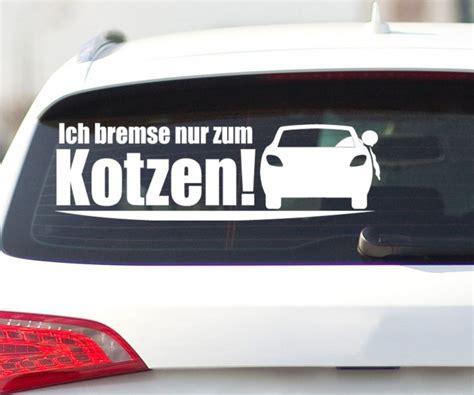 Sticker F Rs Auto Tuning by Aufkleber Bremse Nur Zum Kotzen Jdm Shocker Auto Tuning