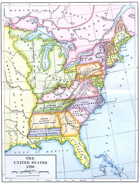 map usa early 1800s the early united states