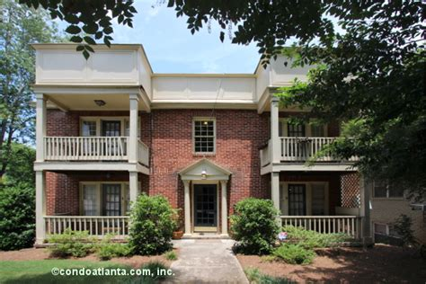 The Highland Luxury Condominium Homes The Greenmont Historic Condos For Sale In Virginia Highland Atlanta